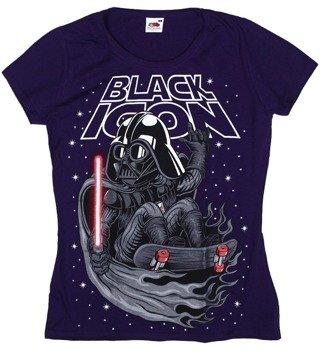 bluzka damska BLACK ICON - VADER (DICON134 VIOLET)