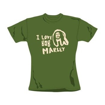 bluzka damska BOB MARLEY - I LOVE BOB MARLEY