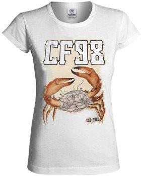 bluzka damska CF98 - NIC DO STRACENIA biała