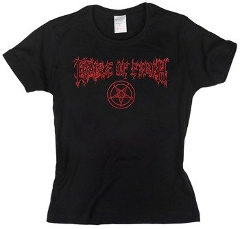 bluzka damska CRADLE OF FILTH - RED LOGO