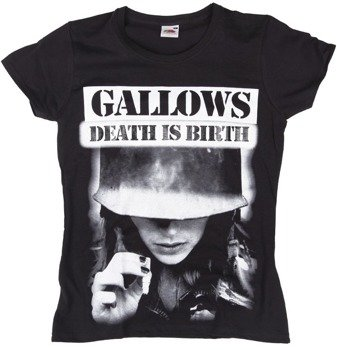 bluzka damska GALLOWS - DEATH IS BIRTH