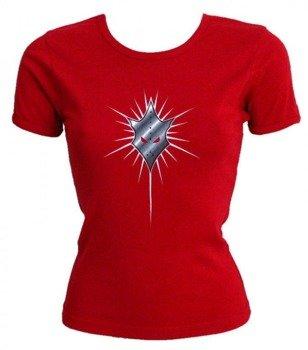 bluzka damska IN FLAMES - RED LOGO
