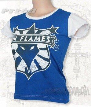 bluzka damska IN FLAMES niebieska