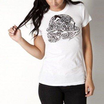 bluzka damska METAL MULISHA - FLORAL CULT biała