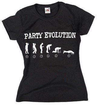 bluzka damska PARTY EVOLUTION