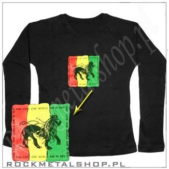 bluzka damska RASTA LION - ONE LOVE, ONE WORLD...