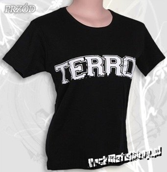 bluzka damska TERROR - LOGO