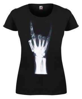 bluzka damska X-RAY HAND - MANO CORNUTA