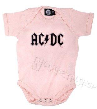 body dziecięce AC/DC - LOGO pink