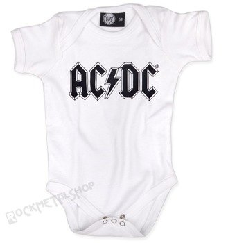 body dziecięce  AC/DC - LOGO  white