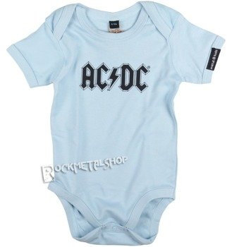 body dziecięce AC/DC błękitne