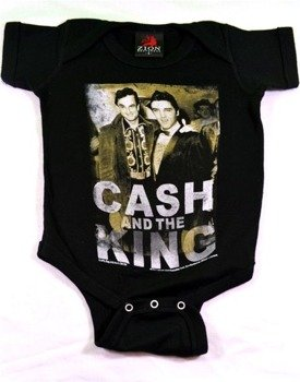 body dziecięce JOHNNY CASH - PRESLEY CASH THE KING