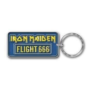 brelok IRON MAIDEN - FLIGHT 666