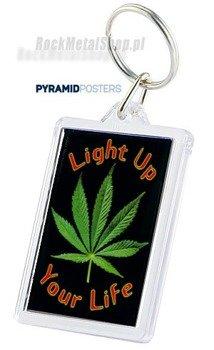 brelok do kluczy LIGHT UP YOUR LIFE