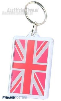 brelok do kluczy UNION JACK (PINK) (PK5427)