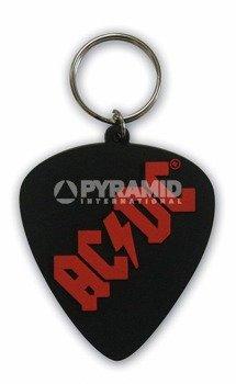brelok gumowy AC/DC - PLECTRUM