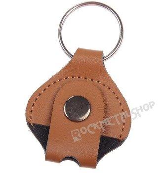 brelok na klucz do perkusji GAUCHO skórzany / jasny brąz