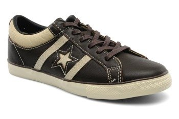 buty CONVERSE ONE STAR ACADEMY TRIM (BLACK/PEBBEL)