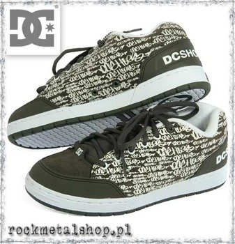 buty DC - CLOCKER SE gun metal/graffiti [301136]