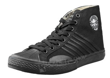 buty DRAVEN - CANVAS HIGH black/black (MCDP02)