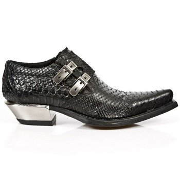 buty NEW ROCK PITON NEGRO, WEST NEGRO ACERO [7934-S2]
