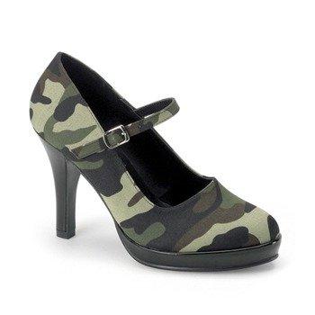 buty damskie na obcasie FUNTASMA (SOLDIER-06)