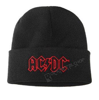 czapka AC/DC - LOGO, zimowa