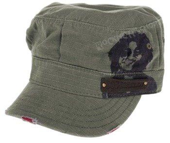 czapka BOB MARLEY - LOGO VINTAGE OLIV