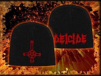 czapka DEICIDE - LOGO & INVERTED CROSS, zimowa