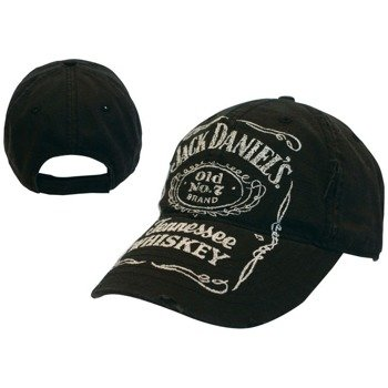 czapka JACK DANIELS - BLACK ADJUSTABLE CAP