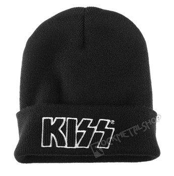 czapka KISS - LOGO, zimowa