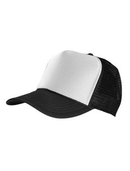 czapka MASTERDIS - BASEBALL CAP TRUCKER, black/white