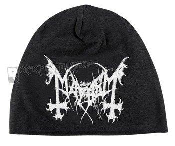 czapka MAYHEM - LOGO, zimowa