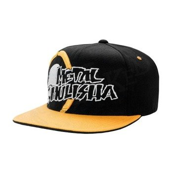 czapka METAL MULISHA - OVERRULE black/yellow