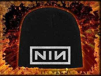 czapka NINE INCH NAILS - LOGO, zimowa