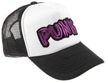 czapka PUNK fioletowy