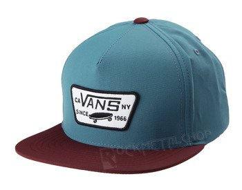 czapka VANS - FULL PATCH STARTER STORM BLUE