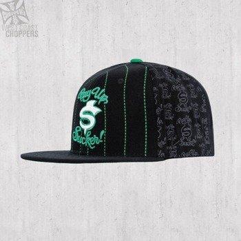 czapka WEST COAST CHOPPERS - PAY UP SUCKER BLACK