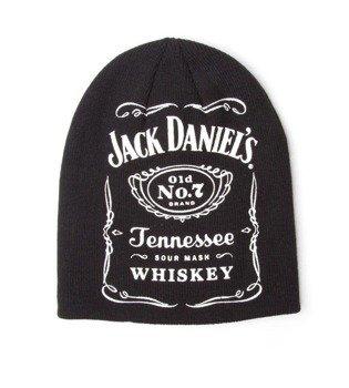 czapka zimowa JACK DANIELS BEANIE BLACK