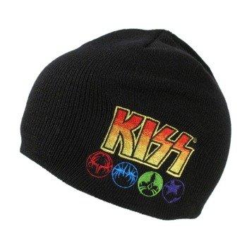 czapka zimowa KISS - LOGO & ICONS