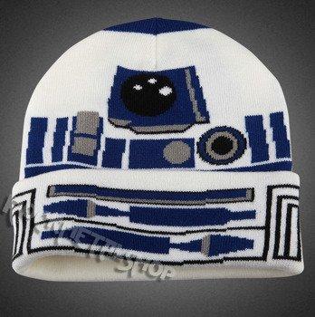 czapka zimowa STAR WARS - R2D2