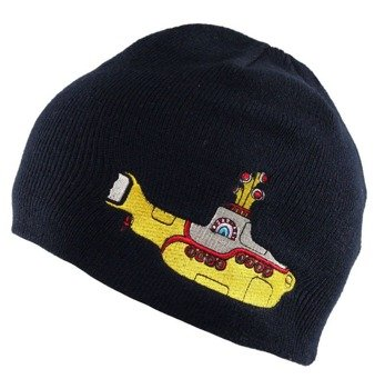 czapka zimowa THE BEATLES - YELLOW SUBMARINE (NAVY)