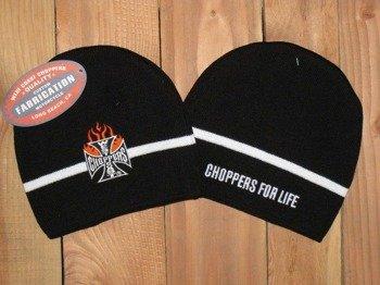czapka zimowa WEST COAST CHOPPERS - IRON FLAMED