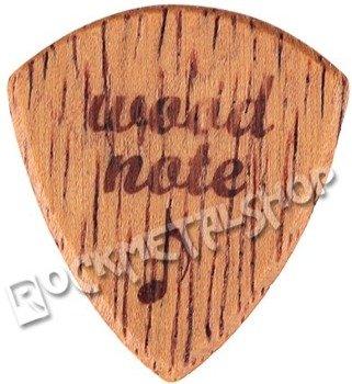 drewniana kostka do gitary WOODNOTE Tinyshield - MERBAU
