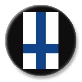 duży kapsel FINLAND INVERTED CROSS