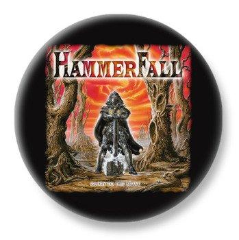 duży kapsel HAMMERFALL - GLORY TO THE BRAVE