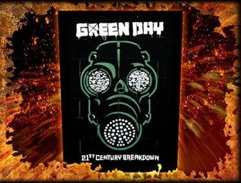 ekran GREEN DAY - GAS MASK