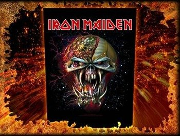 ekran IRON MAIDEN - THE FINAL FRONTIER FACE