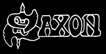 ekran SAXON - WHITE LOGO