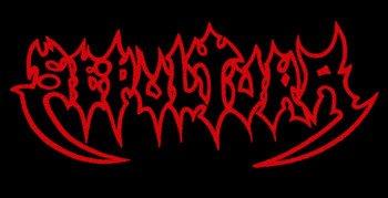 ekran SEPULTURA - OLD RED LOGO